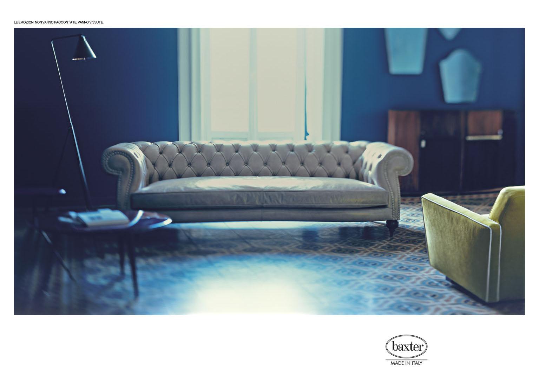 Baxter 2014 Campaign | Andrea Ferrari | Baxter | Elle Decor | Numerique Retouch Photo Retouching Studio