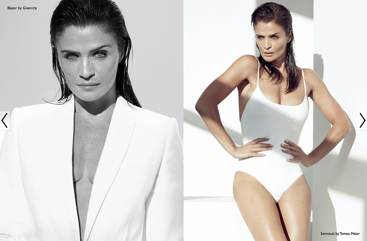 "The Edit January 2014 ""Helena Christensen"" 