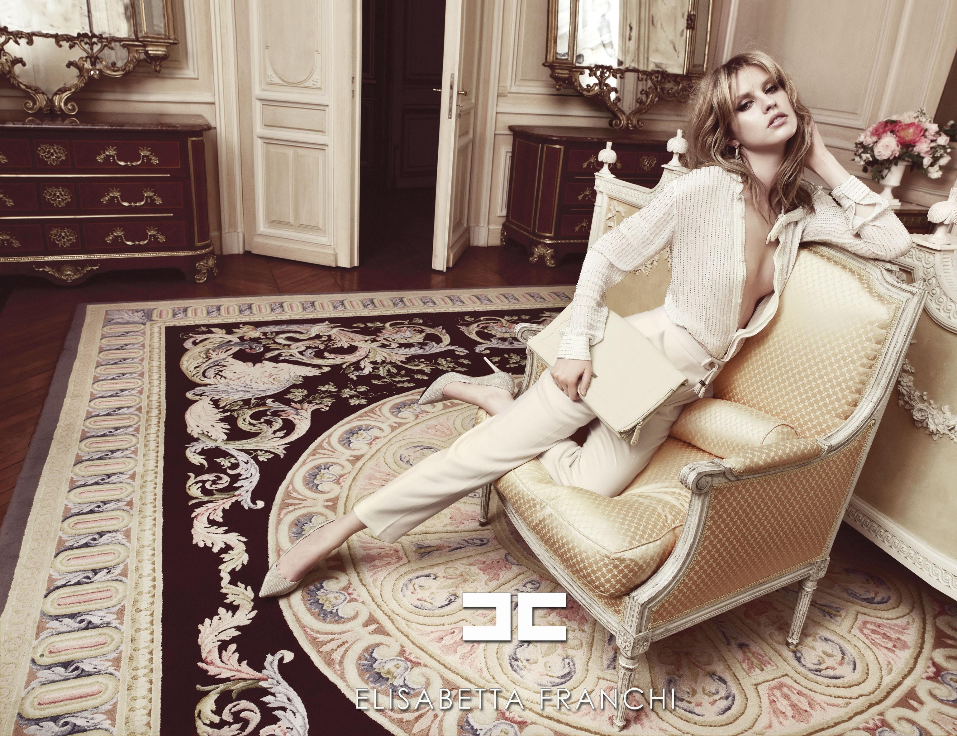 Elisabetta Franchi Fall 2012 | Andoni & Arantxa | Elisabetta Franchi | Numerique Retouch Photo Retouching Studio