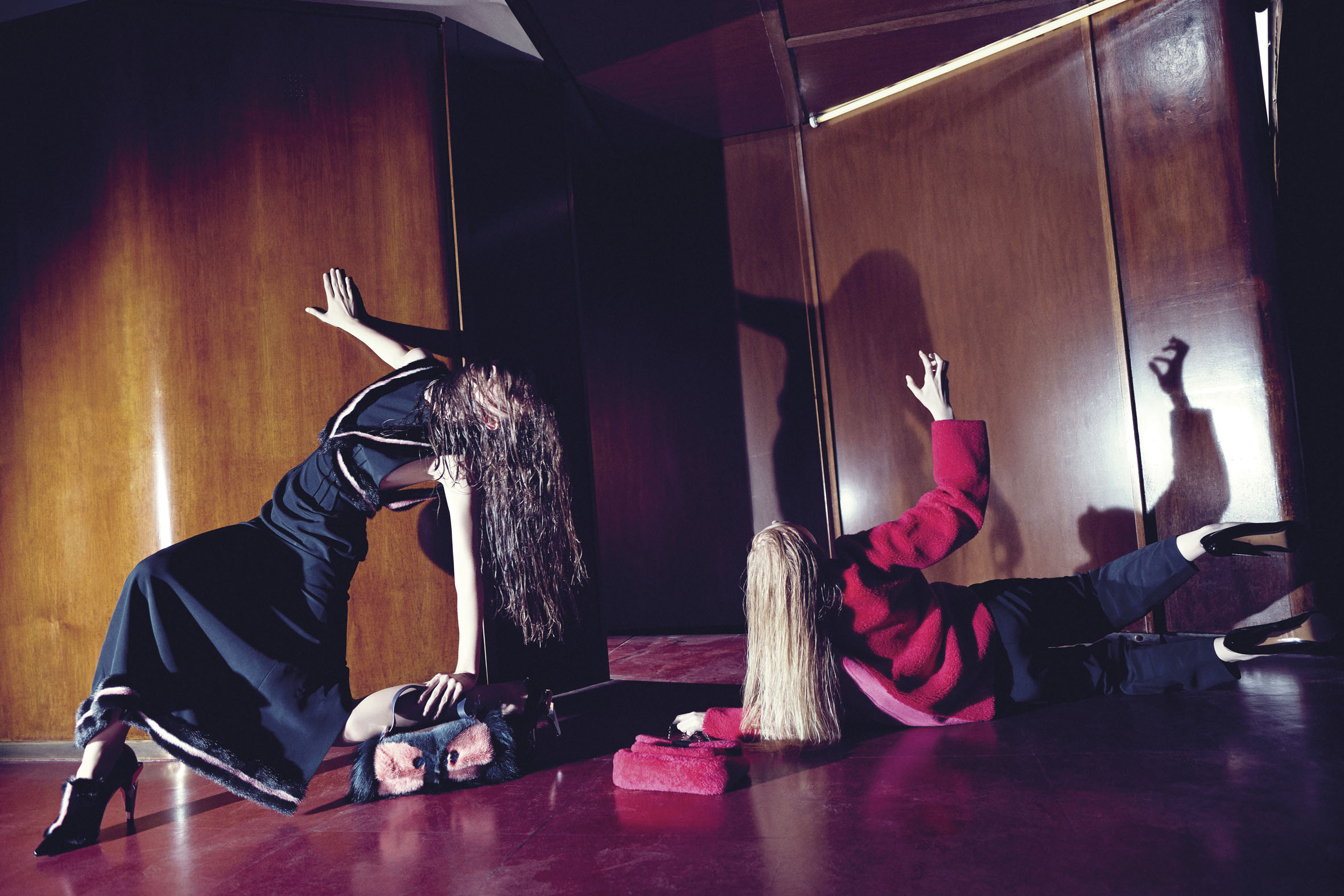 "GREY IX AW 2013/14  ""Fendi Relapse""   Alessio Bolzoni   Grey Magazine   Valentina Ilardi Martin   Numerique Retouch Photo Retouching Studio"