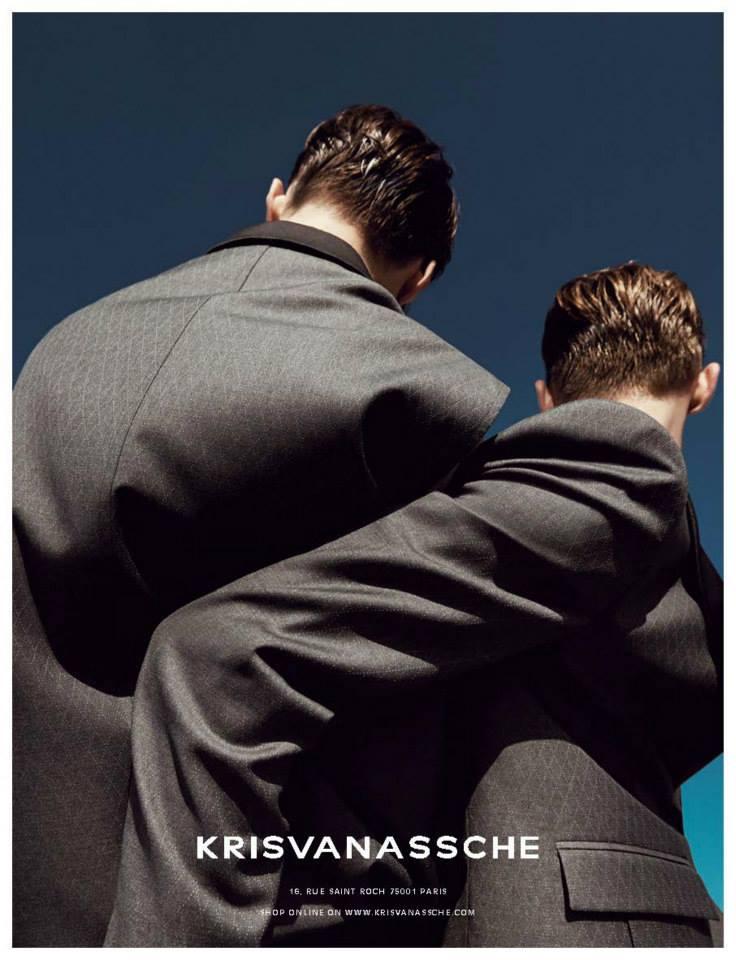 Kris Van Assche SS 2014 Campaign | Alessio Bolzoni | Kris Van Assche | Numerique Retouch Photo Retouching Studio