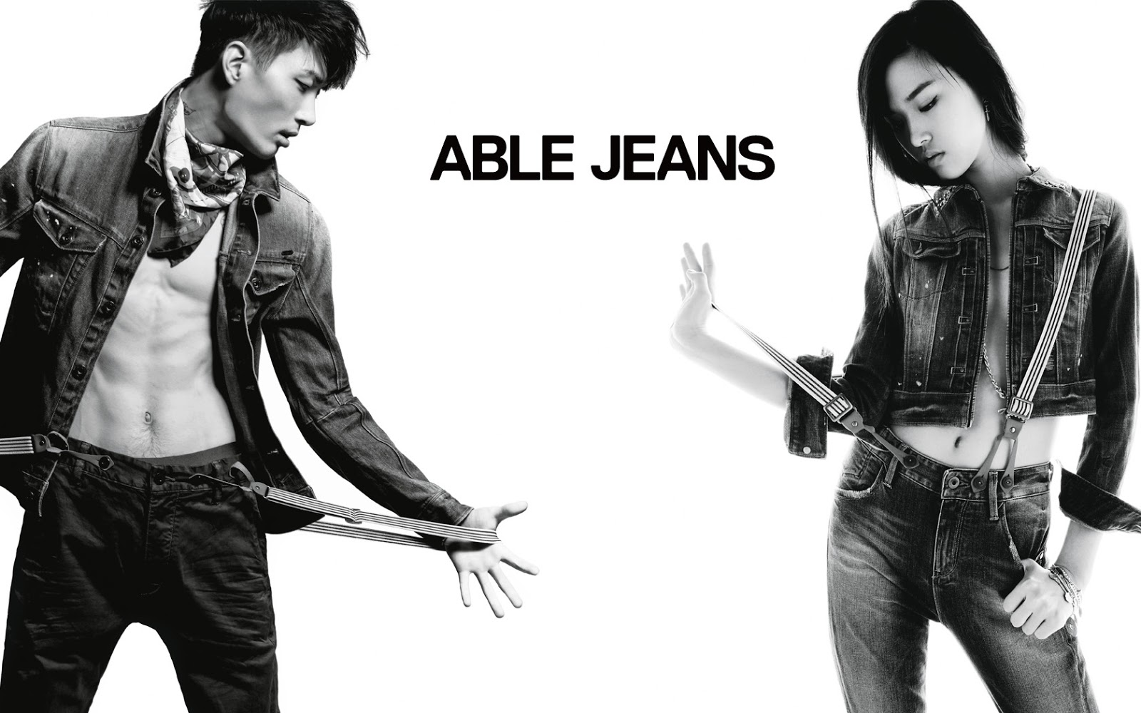 Able Jeans FW 2013 | Rayan Michael Kelly | Able Jeans | Numerique Retouch Photo Retouching Studio