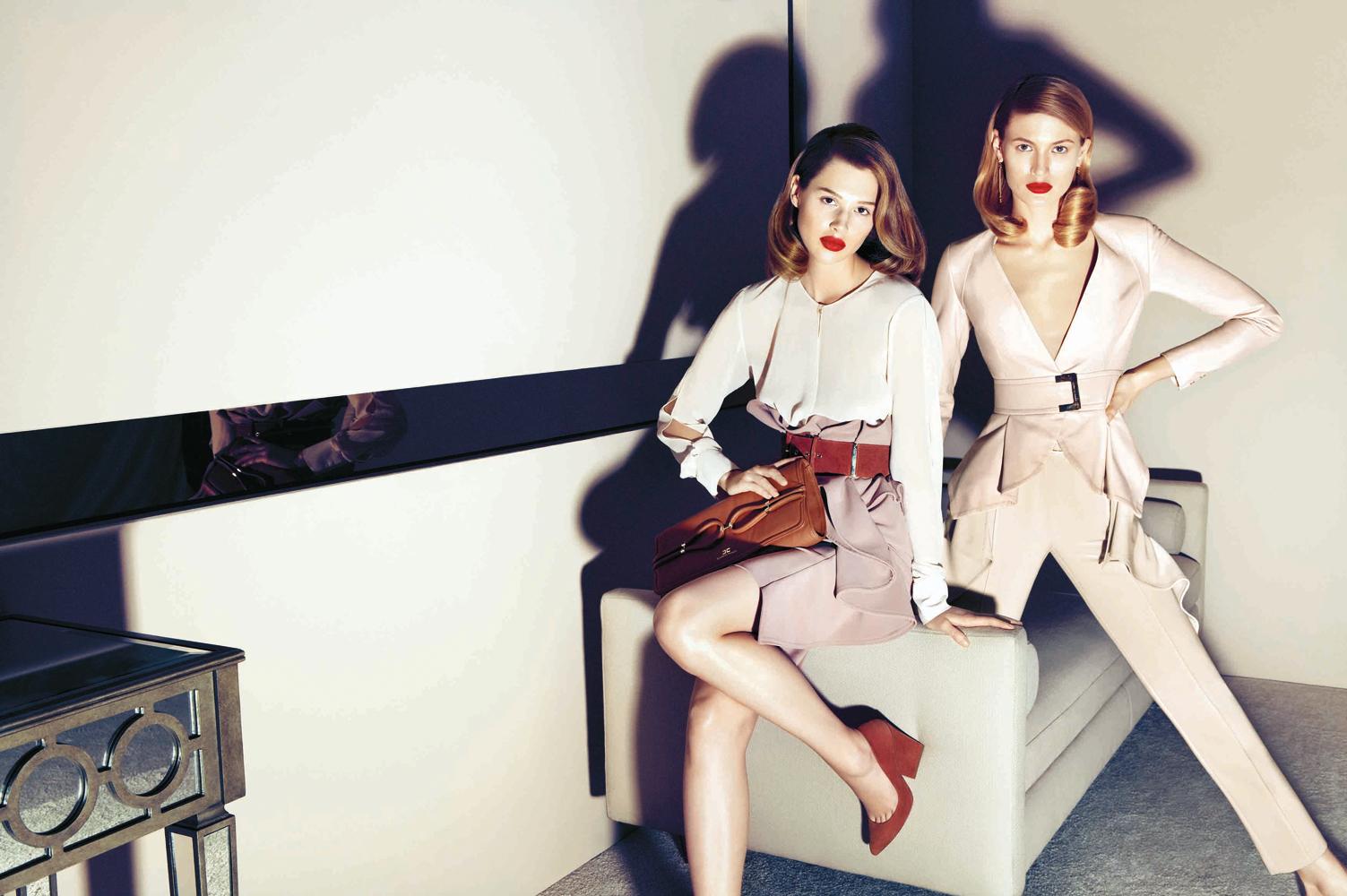Elisabetta Franchi Fall 2013 | Andoni & Arantxa | Elisabetta Franchi | Numerique Retouch Photo Retouching Studio