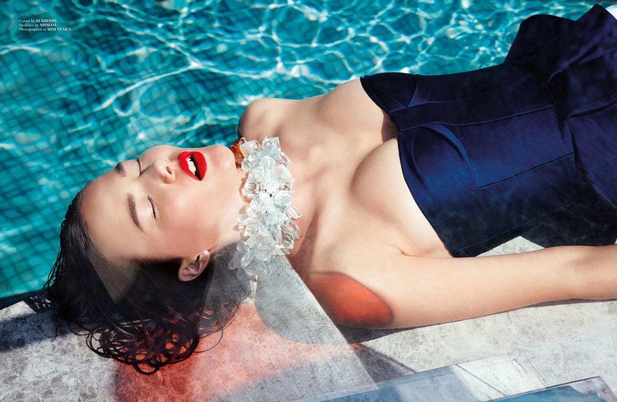 "Baku. Summer 2013 ""New Horizons"" | Carlotta Manaigo | Baku Magazine | Melina Nicolaide | Numerique Retouch Photo Retouching Studio"