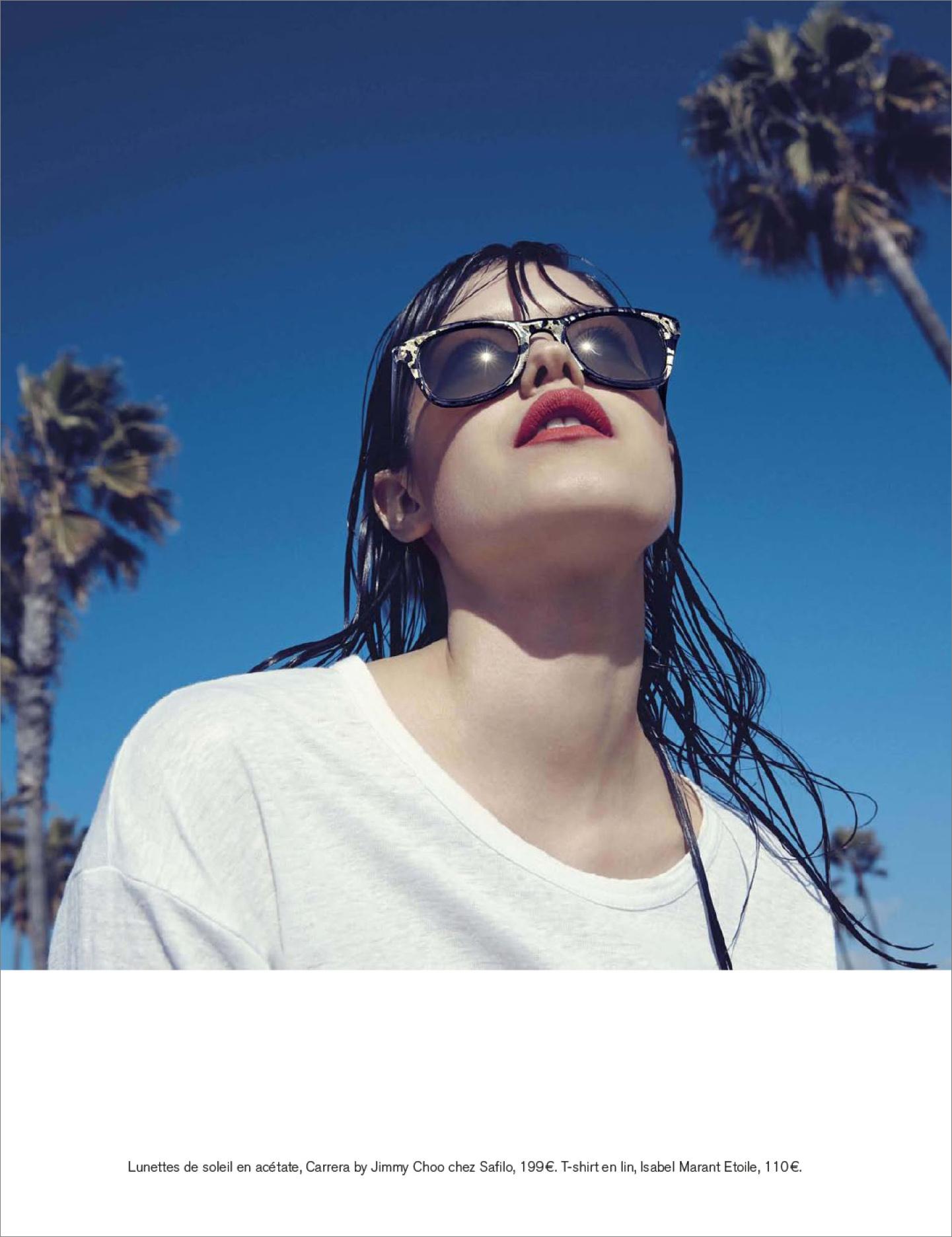 "Glamour France April 2014  ""Plein Soleil"" | Alessio Bolzoni | Glamour France | Sebastien Cambos | Numerique Retouch Photo Retouching Studio"