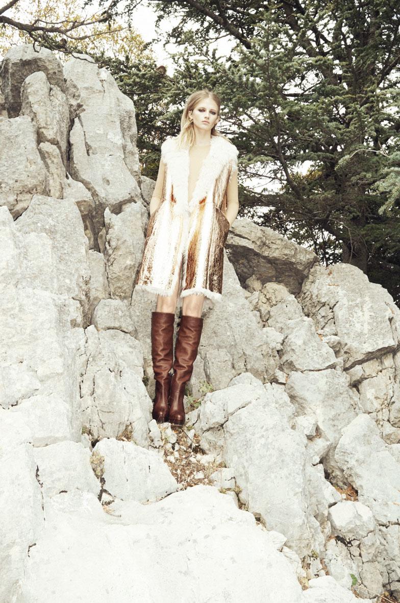 "Aishti Magazine Dec 2013/jan 2014 ""Winter Green"" | Marco Pietracupa | Aishti magazine | Amelianna Loiacono | Numerique Retouch Photo Retouching Studio"