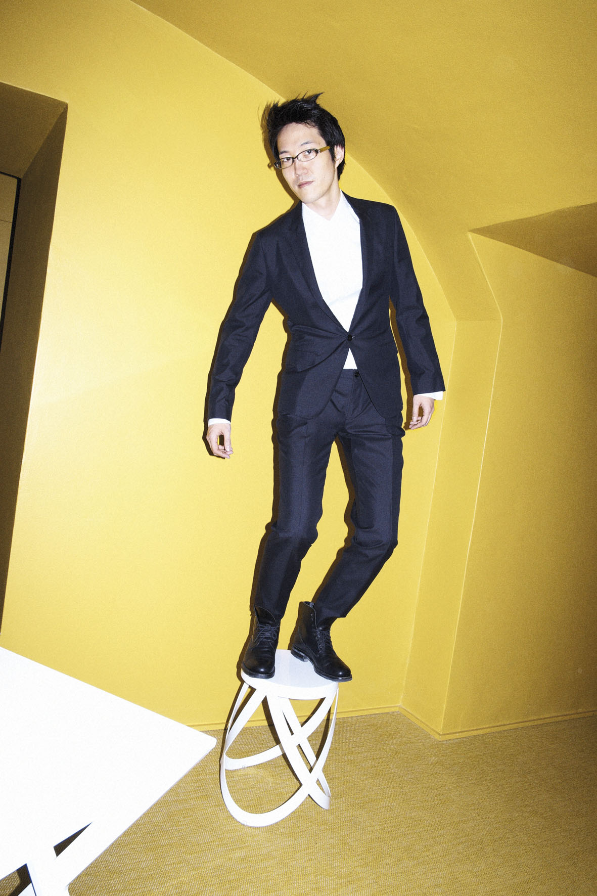 "L'Uomo Vogue January 2013 ""Oki Sato Nendo"" | Marco Pietracupa | L'Uomo Vogue | Nik Piras | Numerique Retouch Photo Retouching Studio"