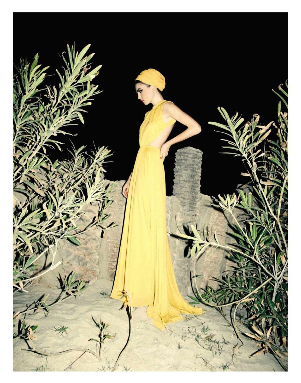 "Grazie Spain May 2013 ""Larga Vida"" | Marco Pietracupa | Grazia Spain | Ana Murillas | Numerique Retouch Photo Retouching Studio"