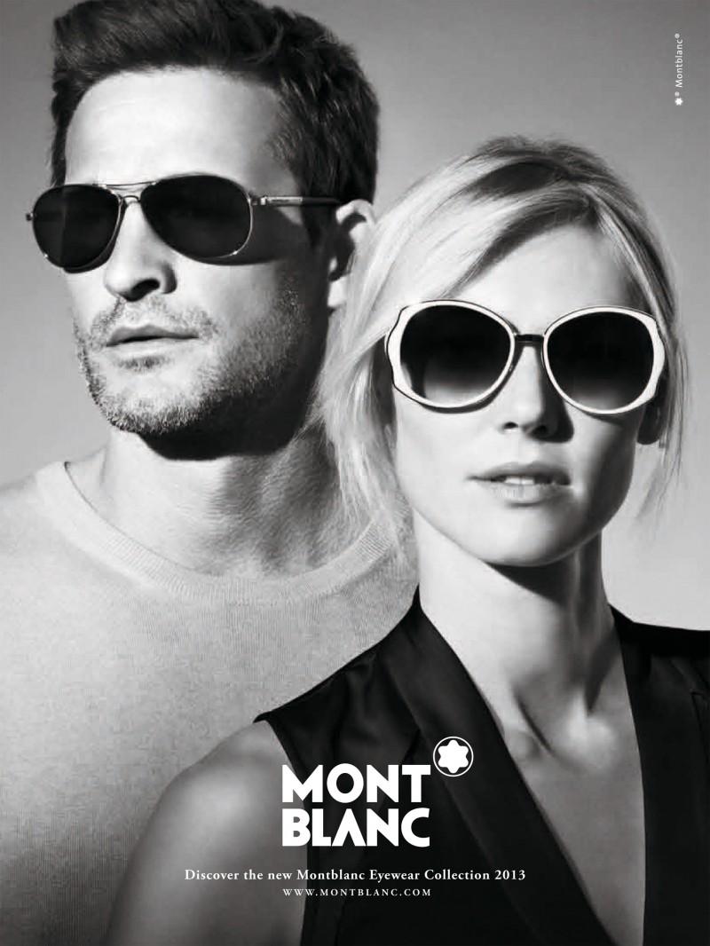 Montblanc SS 2013 Eyewear Campaign   Carlotta Manaigo   Montblanc   Numerique Retouch Photo Retouching Studio