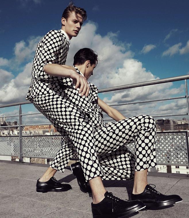 Kris Van Assche SS 2013 Catalogue | Alessio Bolzoni | Kris Van Assche | Numerique Retouch Photo Retouching Studio