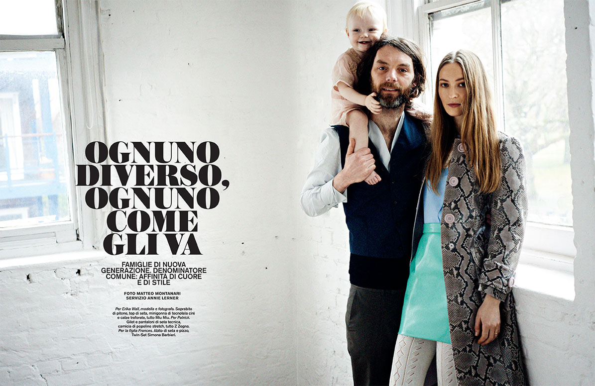 "D la Repubblica March 2014 ""Ognuno diverso, ognuno come gli va"" 