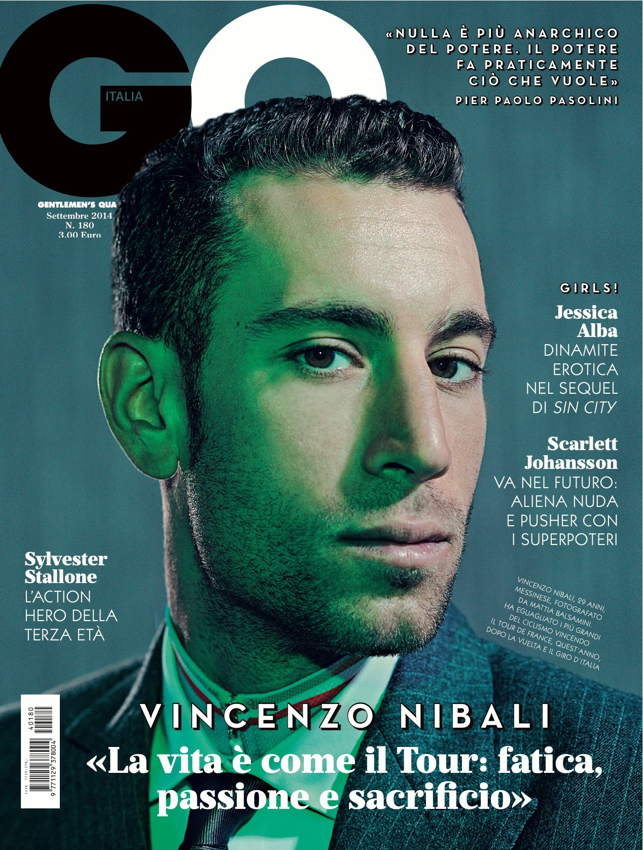 "GQ Italia September 2014 ""Vincenzo Nibali"" 