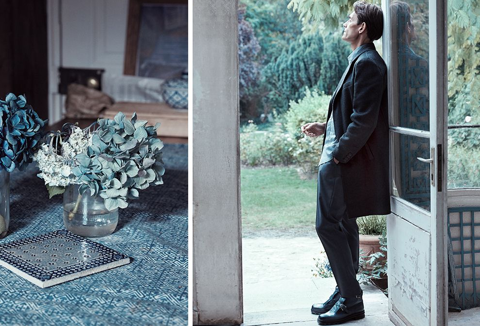 MR Porter September 2014 Didier Vinson for Berluti | Carlotta Manaigo | Mr Porter | Numerique Retouch Photo Retouching Studio