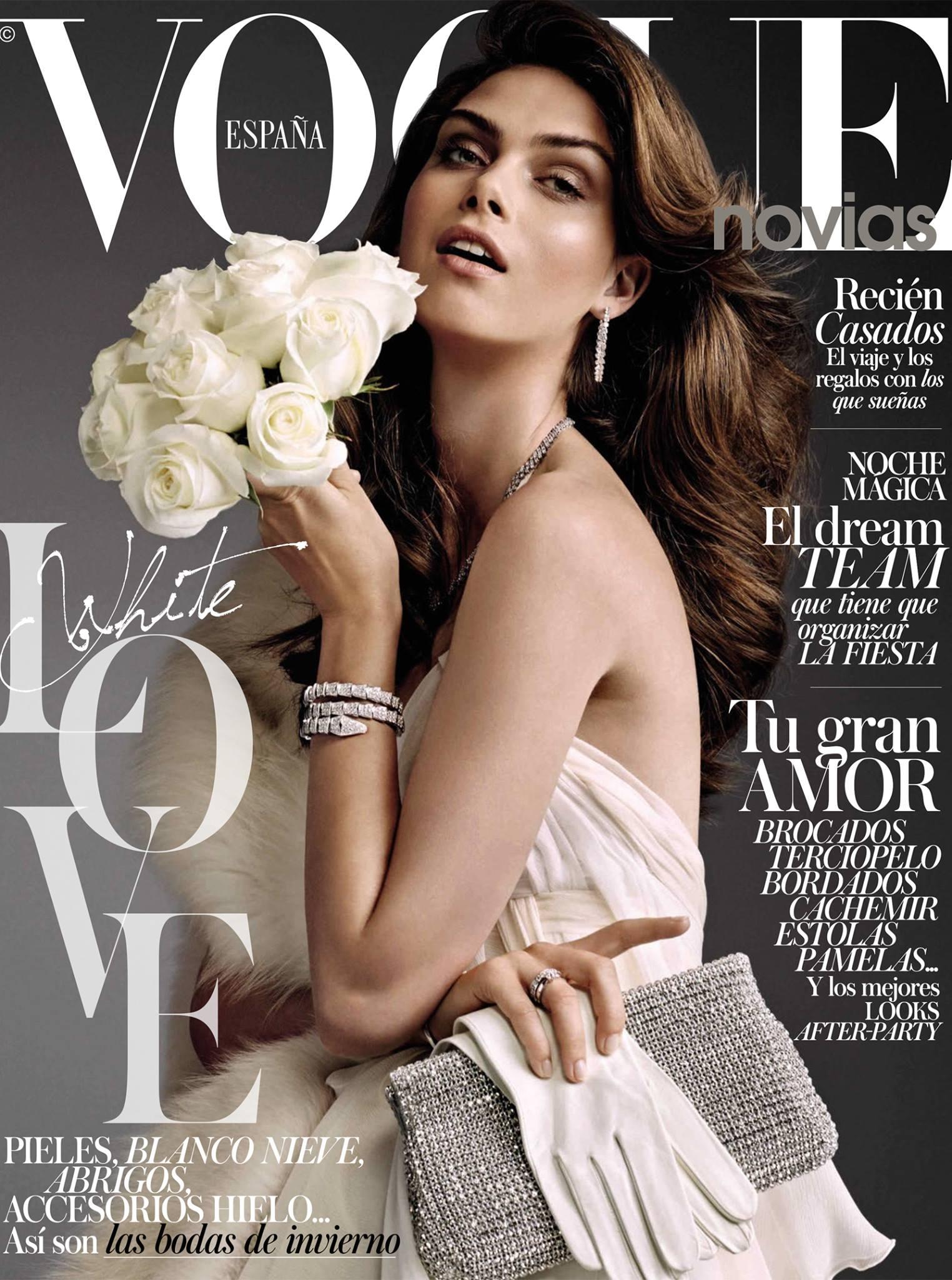 Vogue España Novias October 2014 | Andoni & Arantxa | Vogue España Novias | Sara Fernández Castro | Numerique Retouch Photo Retouching Studio