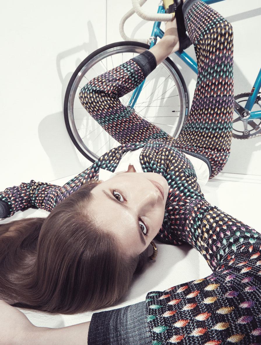 "Stylist January 2015 ""Courir le risque""   Alessio Bolzoni   Stylist Magazine   Belen Casadevall   Numerique Retouch Photo Retouching Studio"