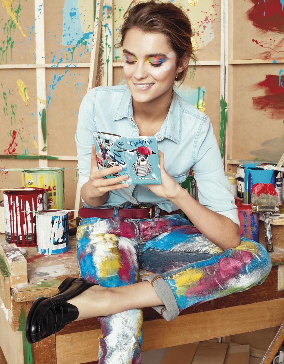 Samsung by Trussardi | Fabio Leidi | Trussardi | Grazia Italia | Monica Curetti | Numerique Retouch Photo Retouching Studio