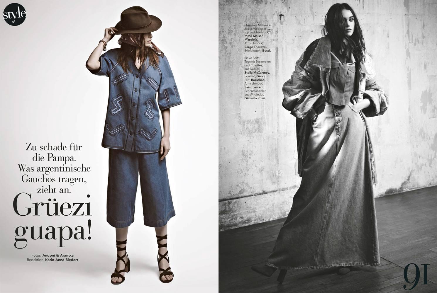 SiStyle April 2015 | Andoni & Arantxa | SI Style | Karin Anna Biedert | Numerique Retouch Photo Retouching Studio