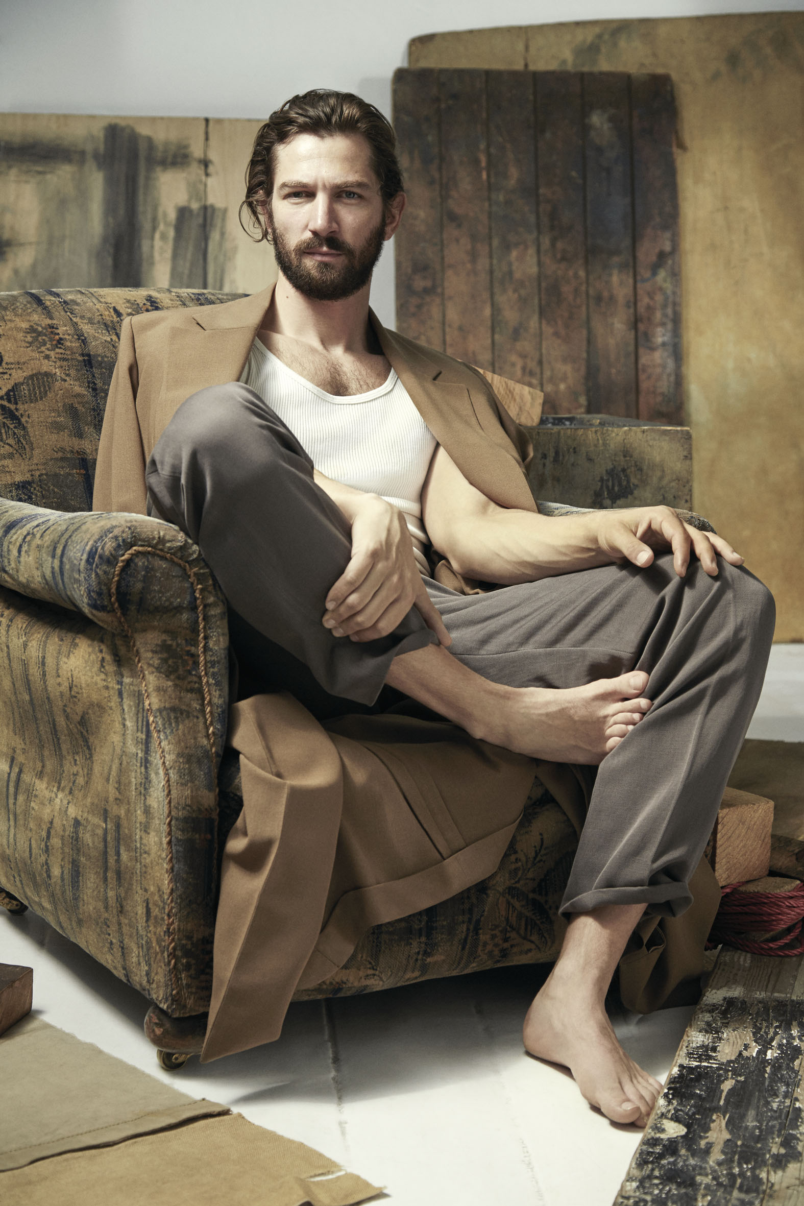 "InStyle April 2015 ""Michiel Huisman"" 