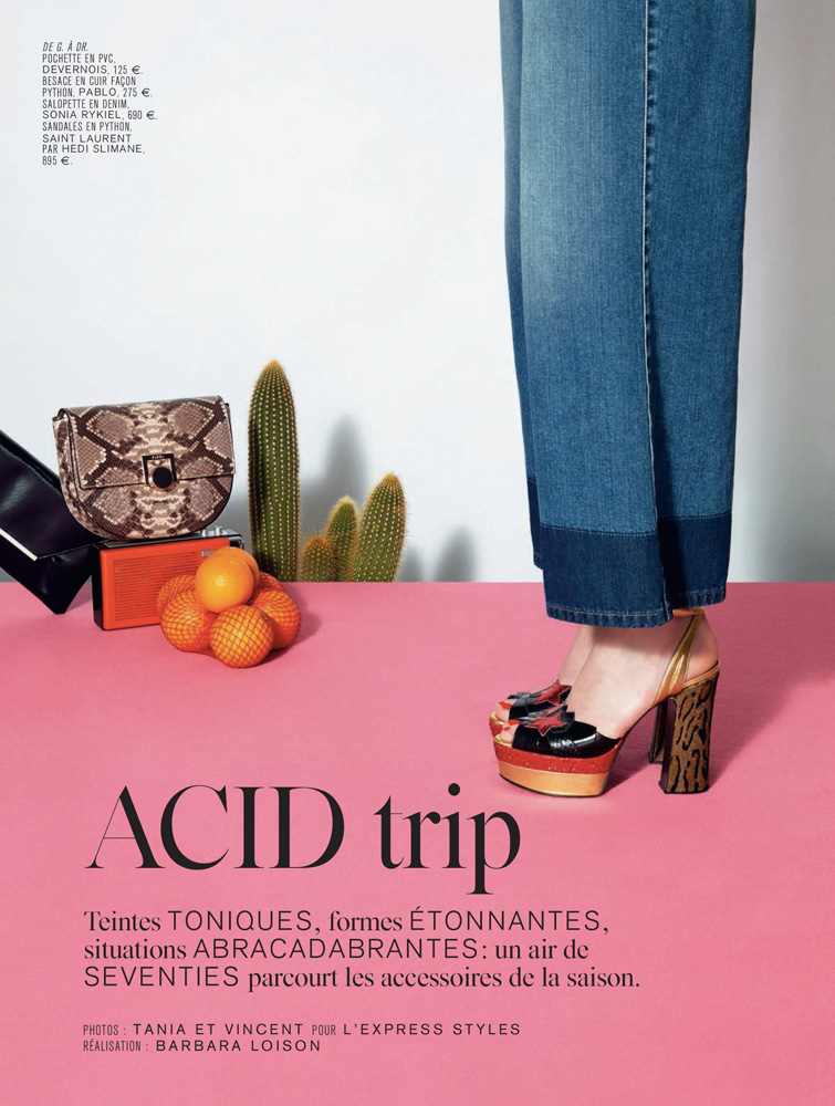"L'Express Summer 2015 ""Acid trip"" 