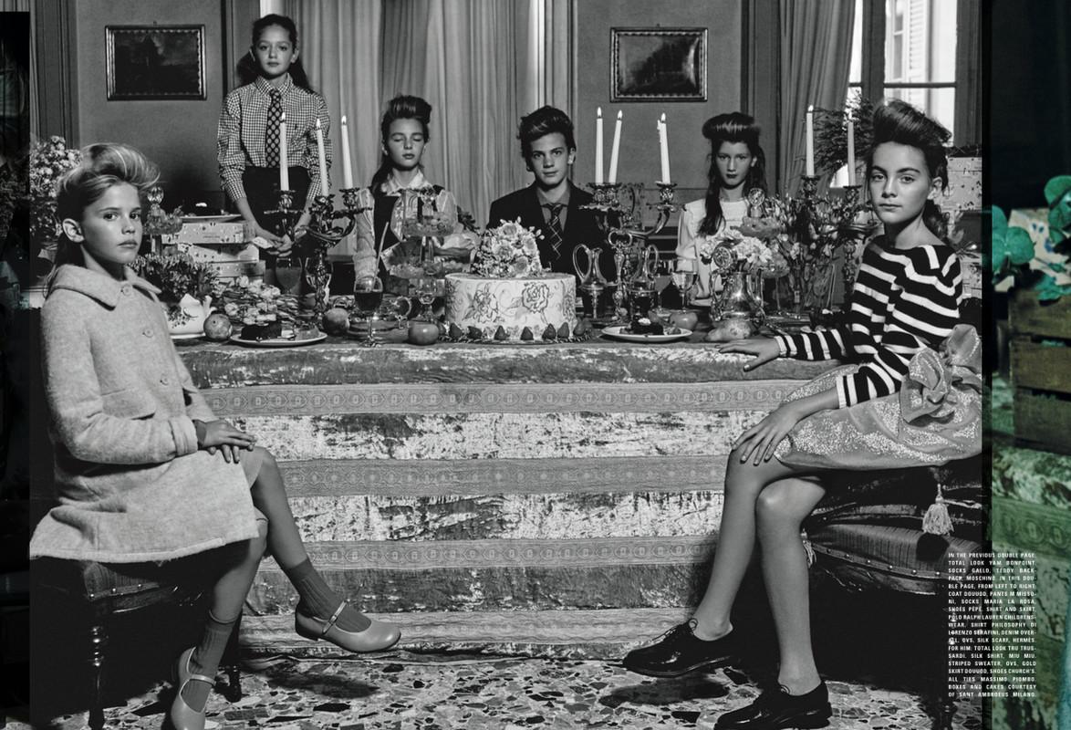 Vogue Bambini Nov/Dec 2015 | Michel Comte | Vogue Italia | Numerique Retouch Photo Retouching Studio