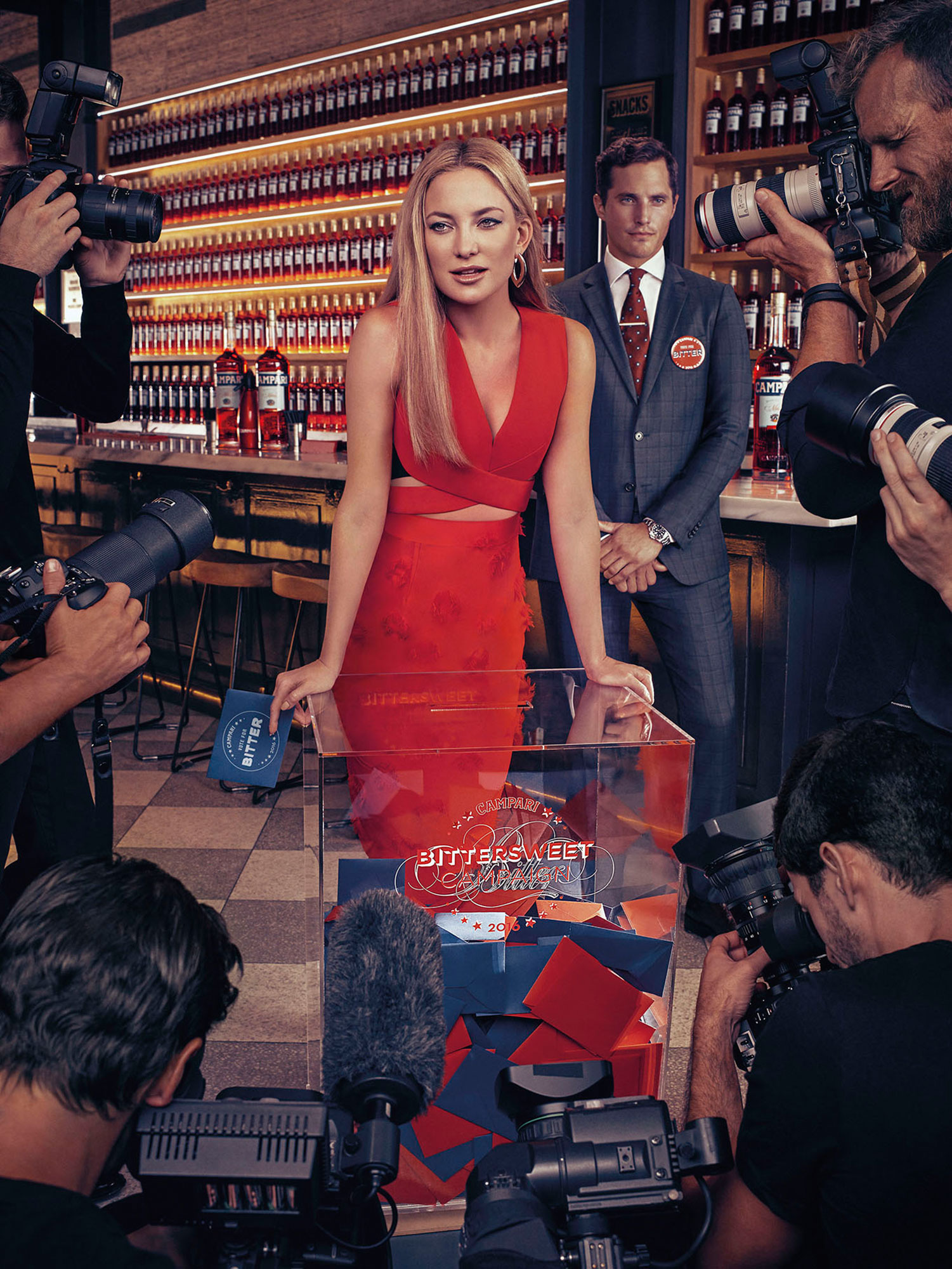 "Campari Calendar 2016 ""Bittersweet Campaign"" feat Kate Hudson 