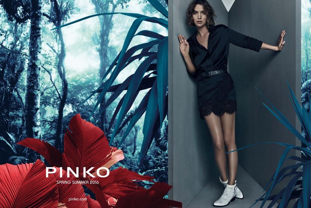 Pinko Campaign SS 2016 | Michelangelo di Battista | Pinko | Sissy Vian | Numerique Retouch Photo Retouching Studio