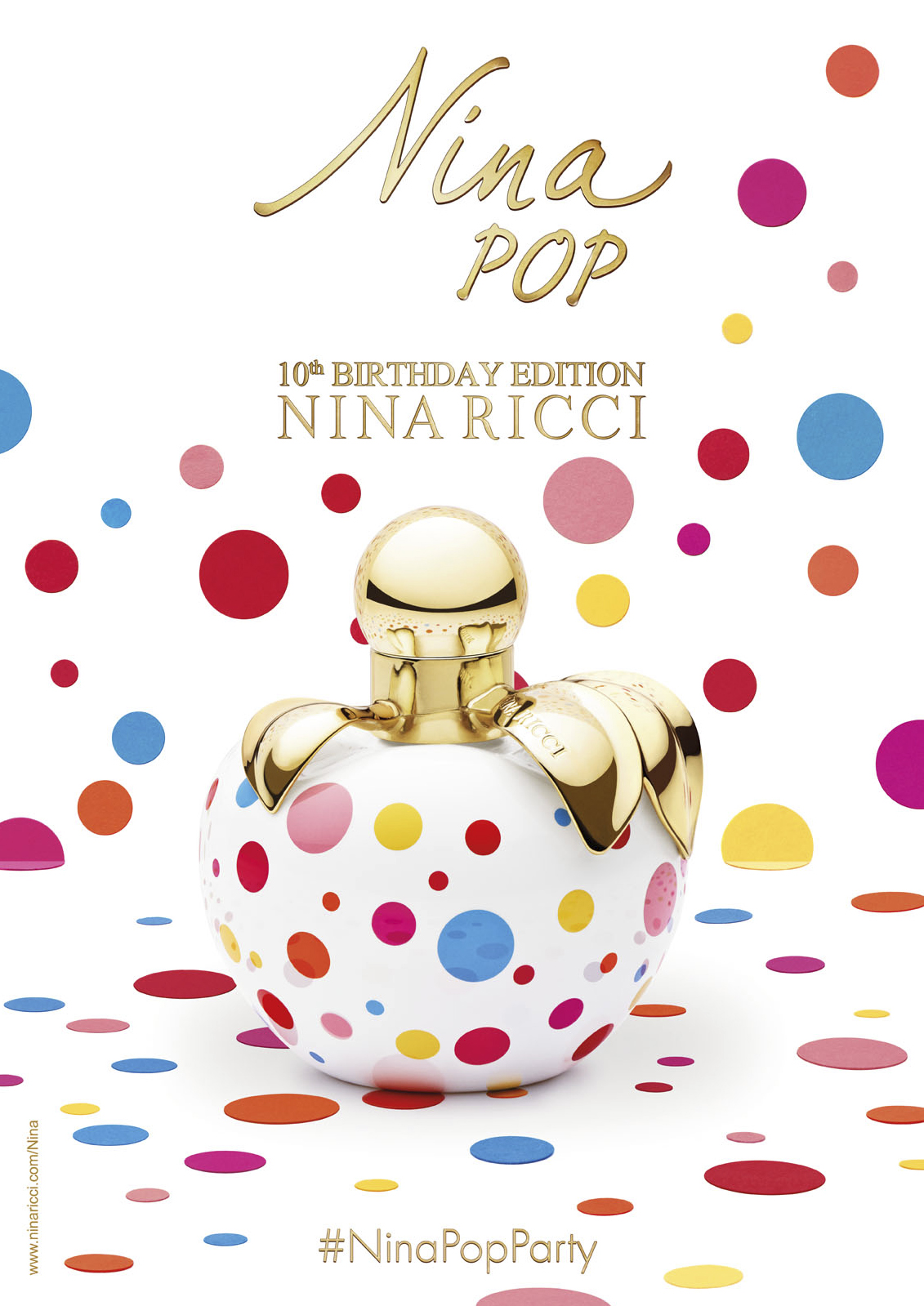 "Nina Ricci ""Nina Pop"" Fragrance Campaign 
