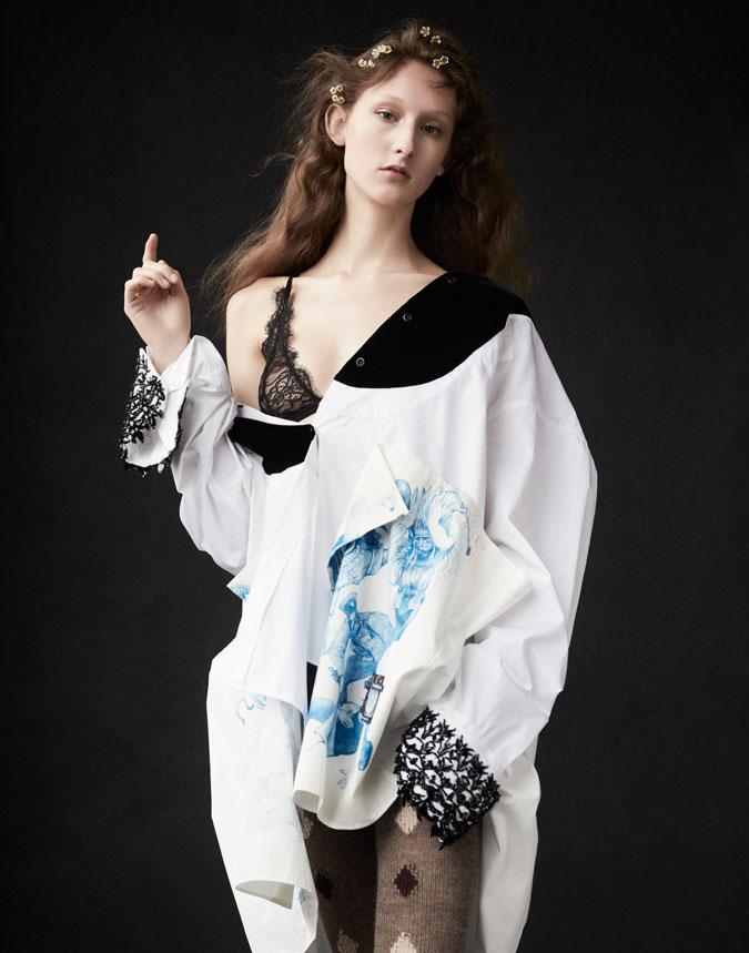 "Numéro TOKYO ""Pretty, sexy, lacy"" | Carlotta Manaigo | Patrizia Pepe | Numéro Tokyo | Catherine Newell-Hanson | Numerique Retouch Photo Retouching Studio"