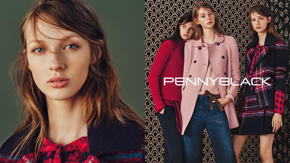 Pennyblack ADV FW 2016/2017 | Alan Chies | Pennyblack | Amica | Gabriella Carrubba | Numerique Retouch Photo Retouching Studio