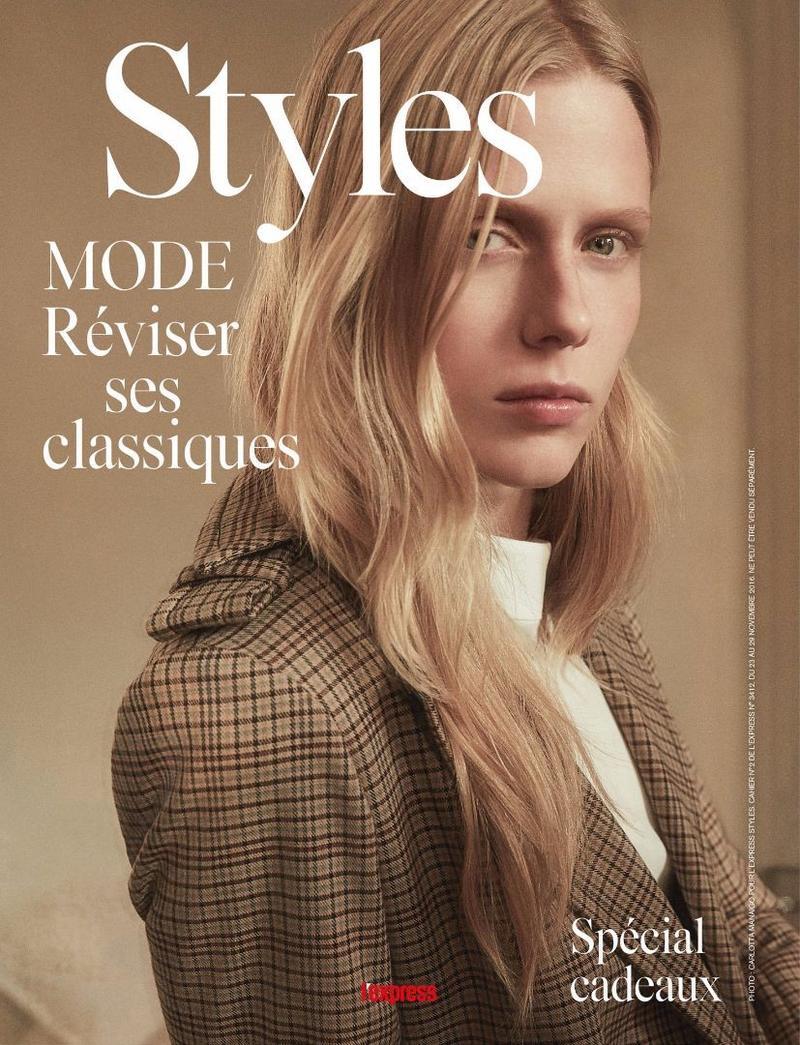 "L'Express Styles November 2016 ""Études de style"" | Carlotta Manaigo | L'Express Styles | Davide Brambilla | Numerique Retouch Photo Retouching Studio"