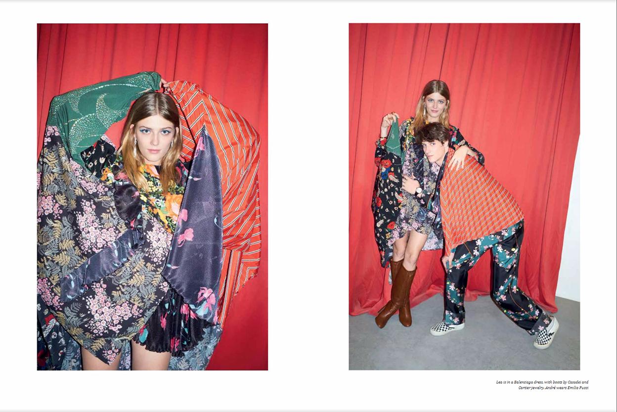 "Aishti Magazine Dec/Jan 2017 ""At the double""   Marco Pietracupa   Aishti magazine   Amelianna Loiacono   Numerique Retouch Photo Retouching Studio"
