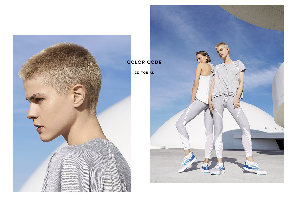 "Oysho Gym Collection SS 2017 ""Color Code"" 