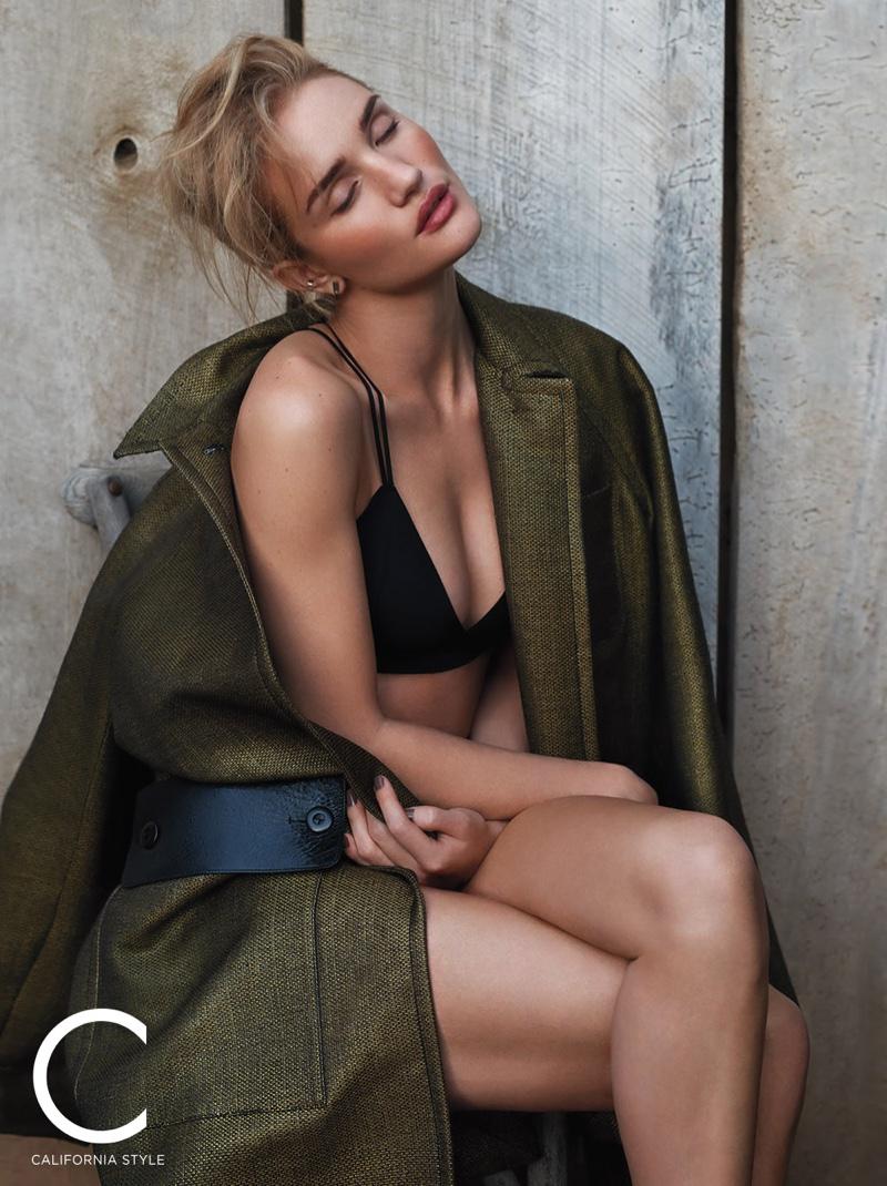 "C Magazine March 2017 ""Rosie Huntington Whiteley"" | Michelangelo di Battista | C Magazine | Numerique Photo Retouching Studios"