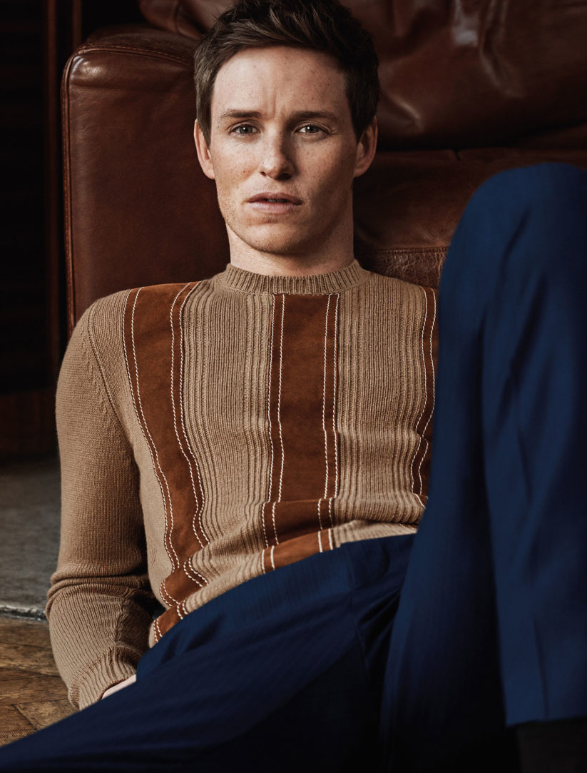 "GQ Italia April 2017 ""Eddie Redmayne"" 