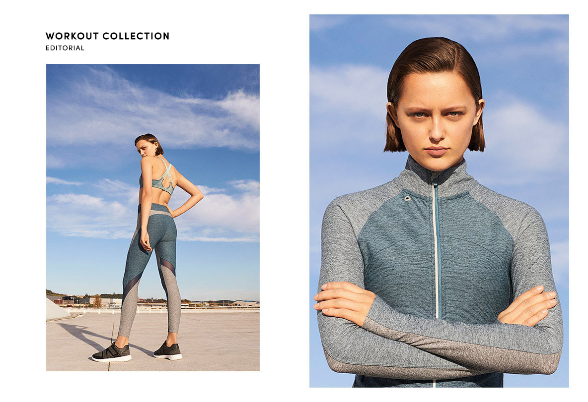 "Oysho Gym Collection SS 2017 ""Workout Collection"" 