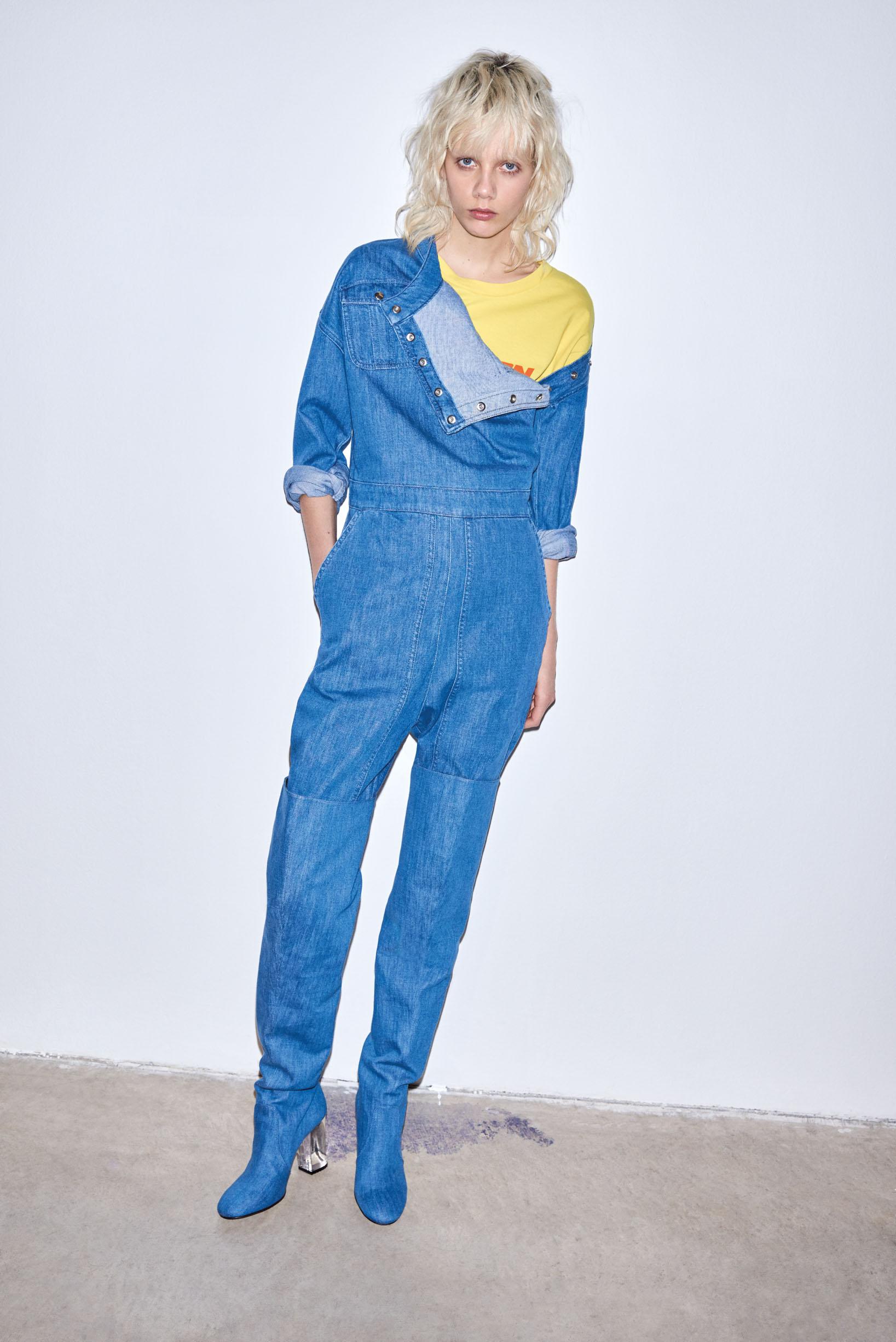 Pinko Jeans FW 17-18 Lookbook | Marco Pietracupa | Pinko | Sissy Vian | Numerique Retouch Photo Retouching Studio