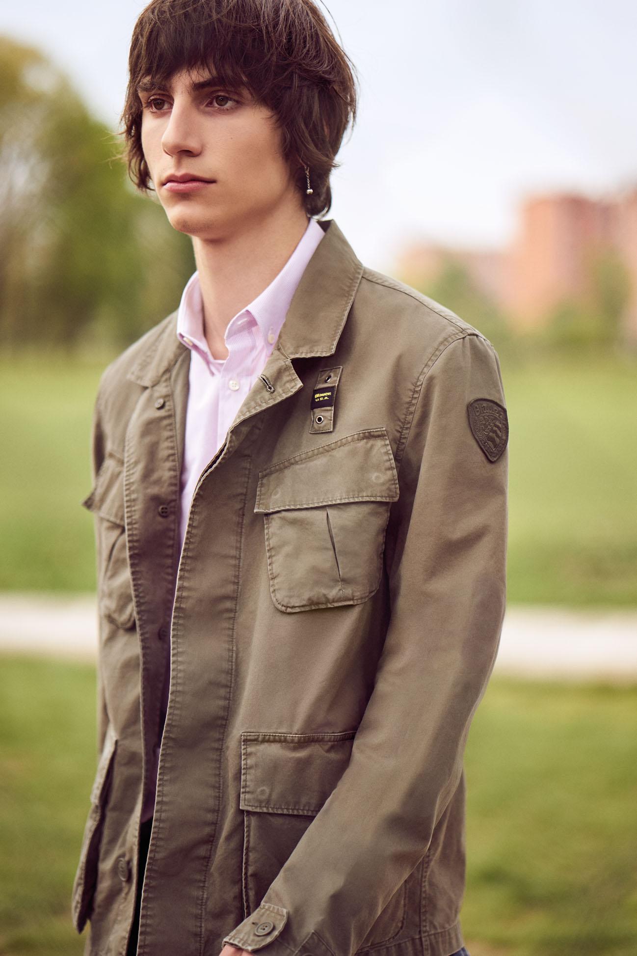 "GQ Italy May-June 2017 ""Field Jacket"" | Tim Clark | GQ Italia | Andrea Tenerani | Numerique Retouch Photo Retouching Studio"