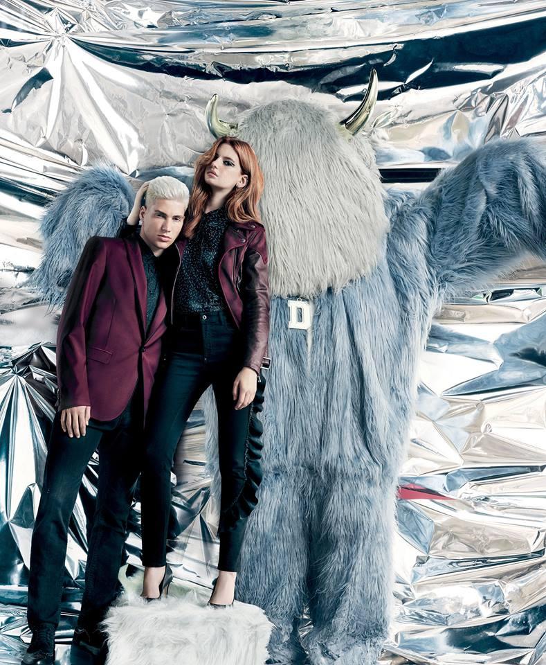 Diesel Faux-Fur Pre-Spring '17 Campaign | Diesel | Numerique Retouch Photo Retouching Studio
