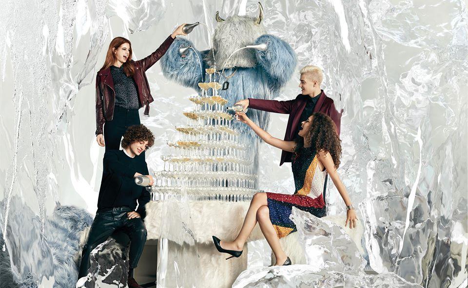 Diesel Faux-Fur Pre-Spring '17 Campaign | Omar Machiavelli | Diesel | Harper's Bazaar Japan | Enrica Ponzellini | Numerique Retouch Photo Retouching Studio