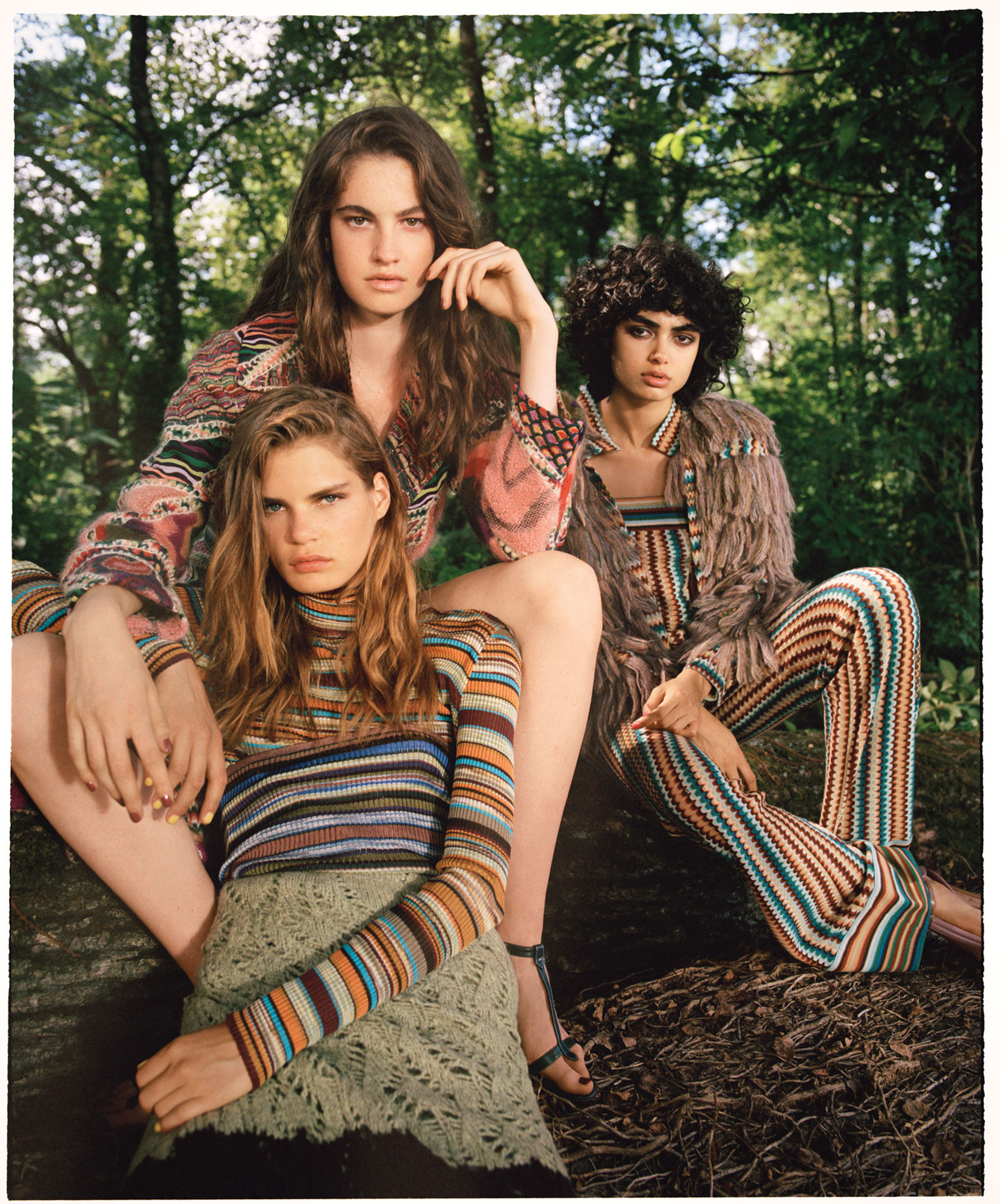 Maison Missoni, September 2017 | Daniel Regan | Missoni | Enrica Ponzellini | Numerique Retouch Photo Retouching Studio