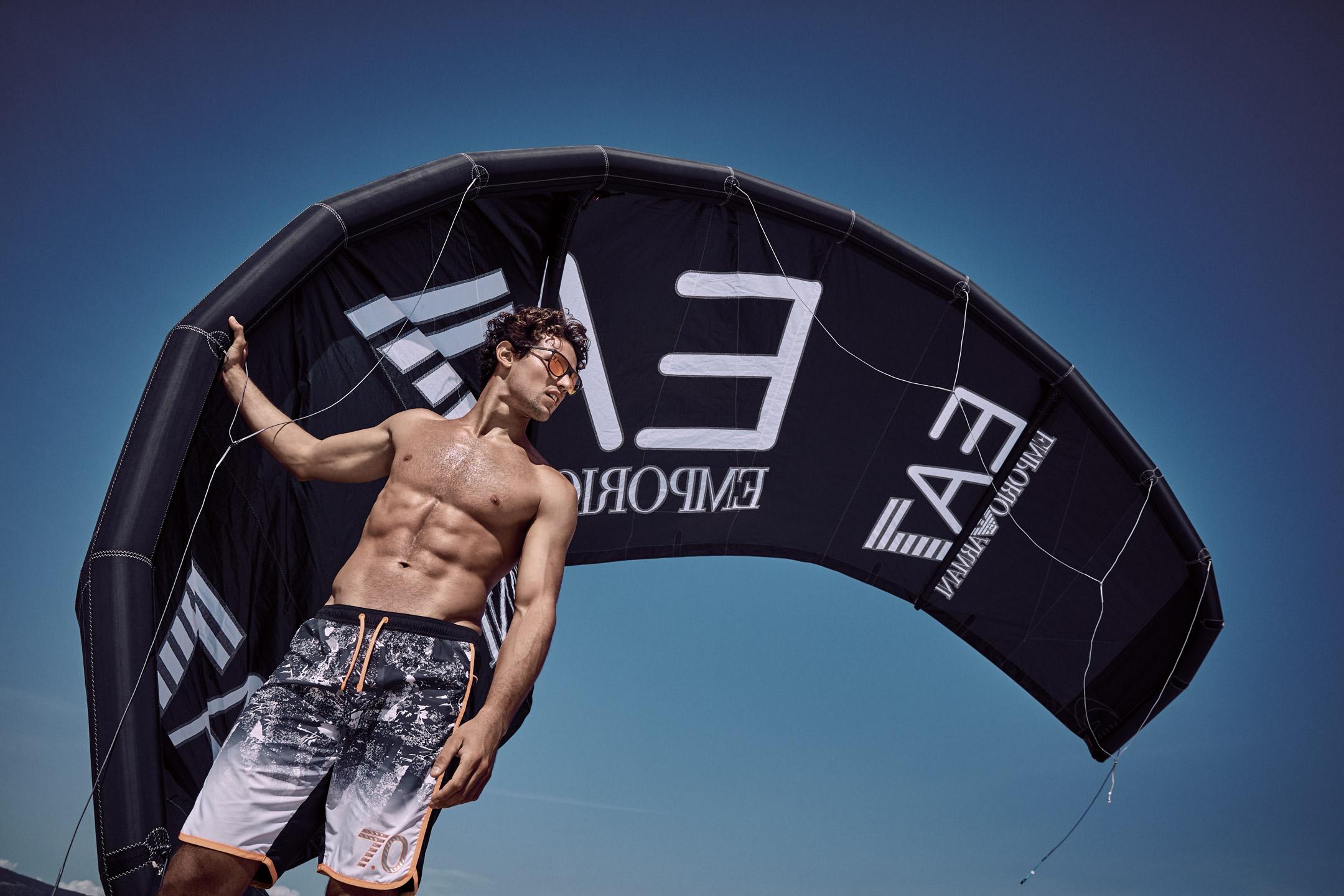 Armani Sport SS'18 | Serge Guerand | Armani | Marie Claire USA | Alison Edmond | Numerique Retouch Photo Retouching Studio