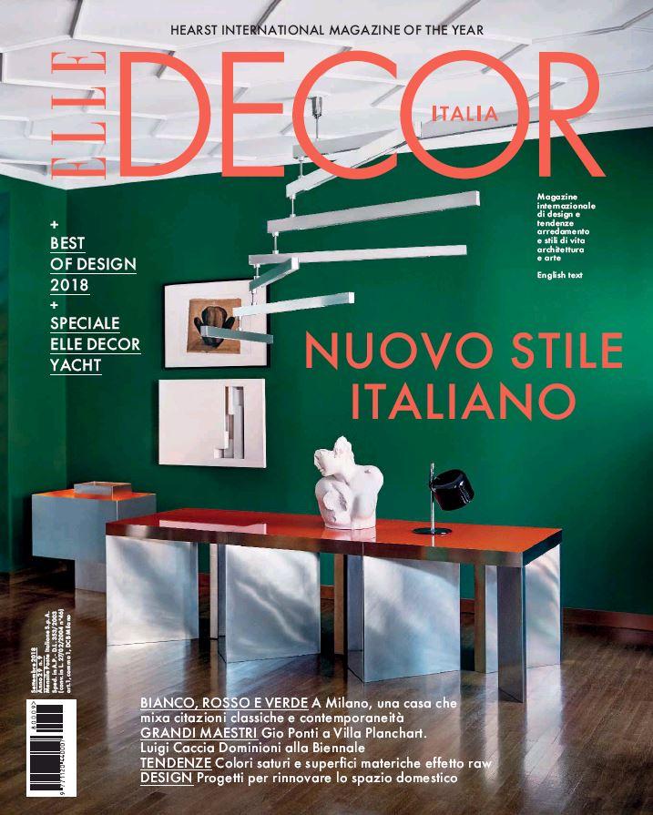 Elle Decor Cover Story September 2018 | Andrea Ferrari | Mango | Elle Decor | Nicolò Andreoni | Numerique Retouch Photo Retouching Studio