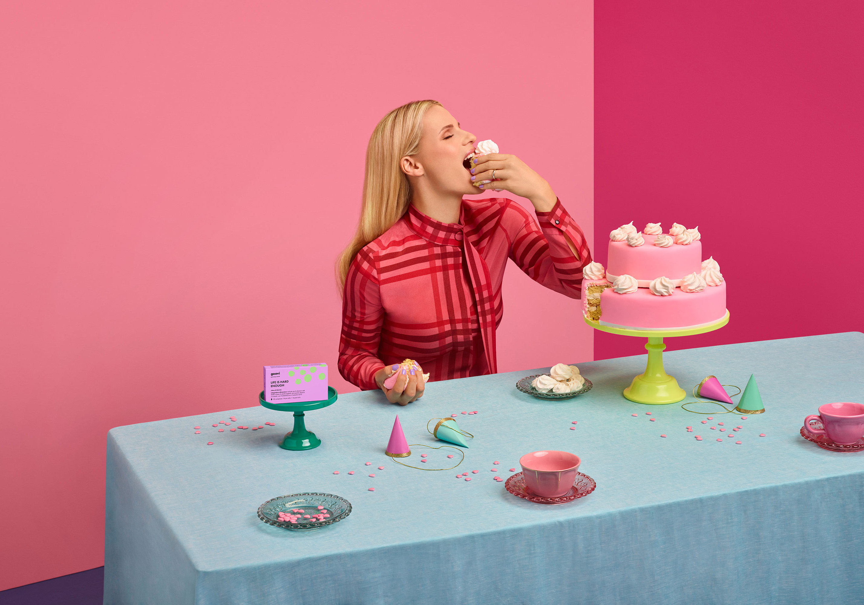 Goovi ADV 2018 | Aleksandra Kingo | Goovi | Stephanie Kherlakian | Numerique Retouch Photo Retouching Studio