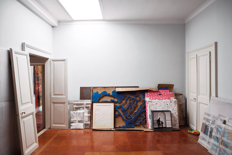 "Elle Decor March 2018 ""This is not a gallery"" | Andrea Ferrari | Marcante Testa UdA | Elle Decor | Numerique Retouch Photo Retouching Studio"