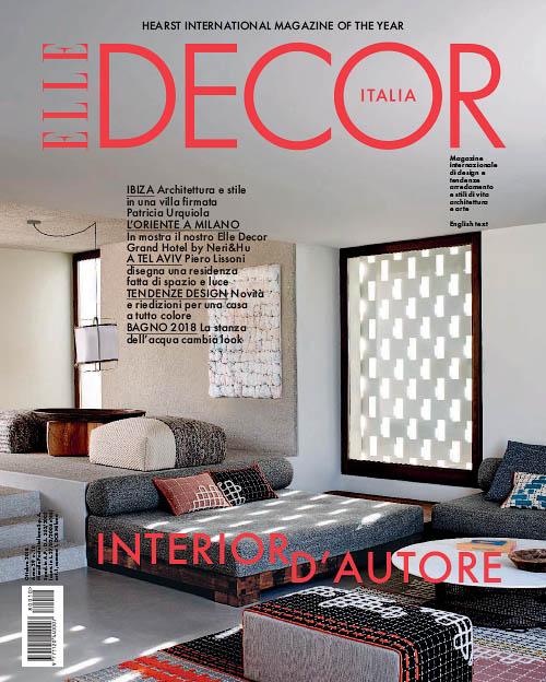 Elle Decor Cover Story October 2018 | Andrea Ferrari | Elle Decor | Numerique Retouch Photo Retouching Studio