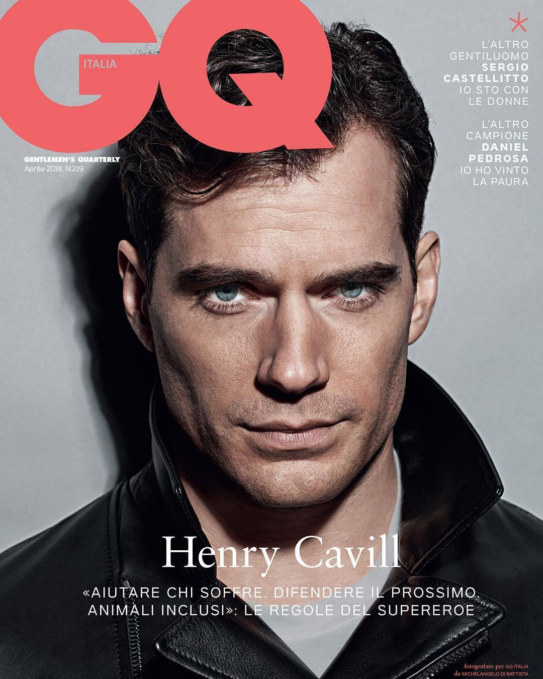 GQ Cover April 2018 x Henry Cavill | Michelangelo di Battista | GQ Italia | Nicolò Andreoni | Numerique Retouch Photo Retouching Studio