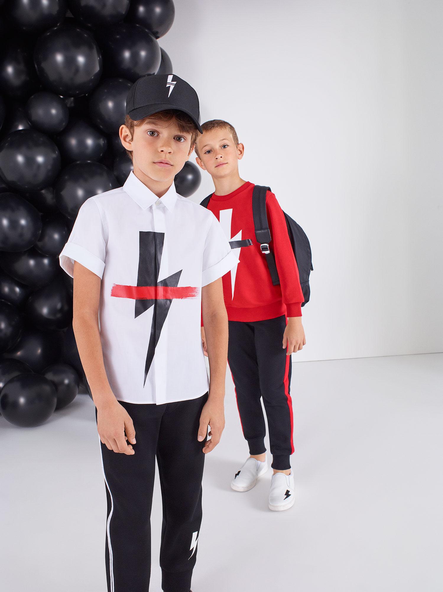Neil Barrett Kids 2018 | Diego Diaz | Neil Barrett | Numerique Retouch Photo Retouching Studio