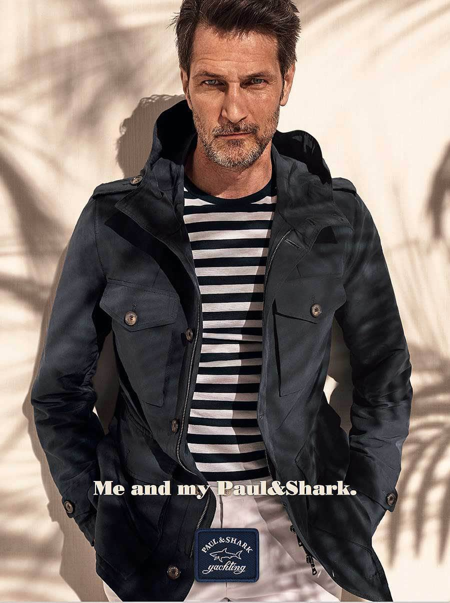 Paul & Shark SS18 | Michelangelo di Battista | Paul & Shark | Harper's Bazaar Japan | Akiko Hayashida | Numerique Retouch Photo Retouching Studio