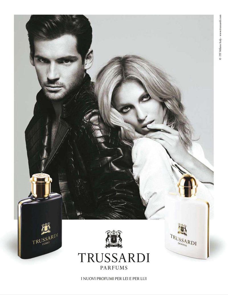 Trussardi Fragrance Campaign | Milan Vukmirovic | Trussardi | Grazia Italia | Kate Phelan | Numerique Retouch Photo Retouching Studio