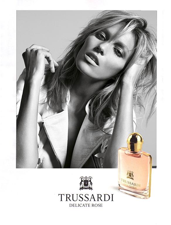 "Trussardi ""Delicate Rose"" Fragrance Campaign | Milan Vukmirovic | Trussardi | Grazia Italia | Kate Phelan | Numerique Retouch Photo Retouching Studio"